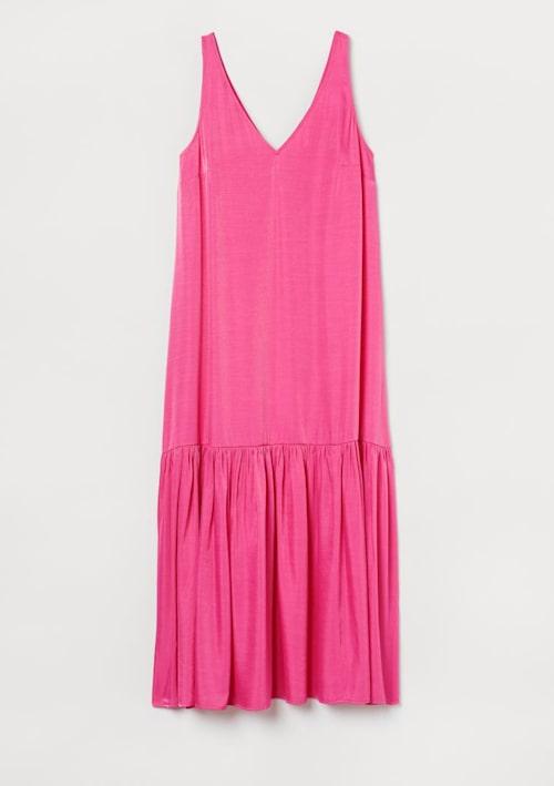 Rosa klänning från H&M.