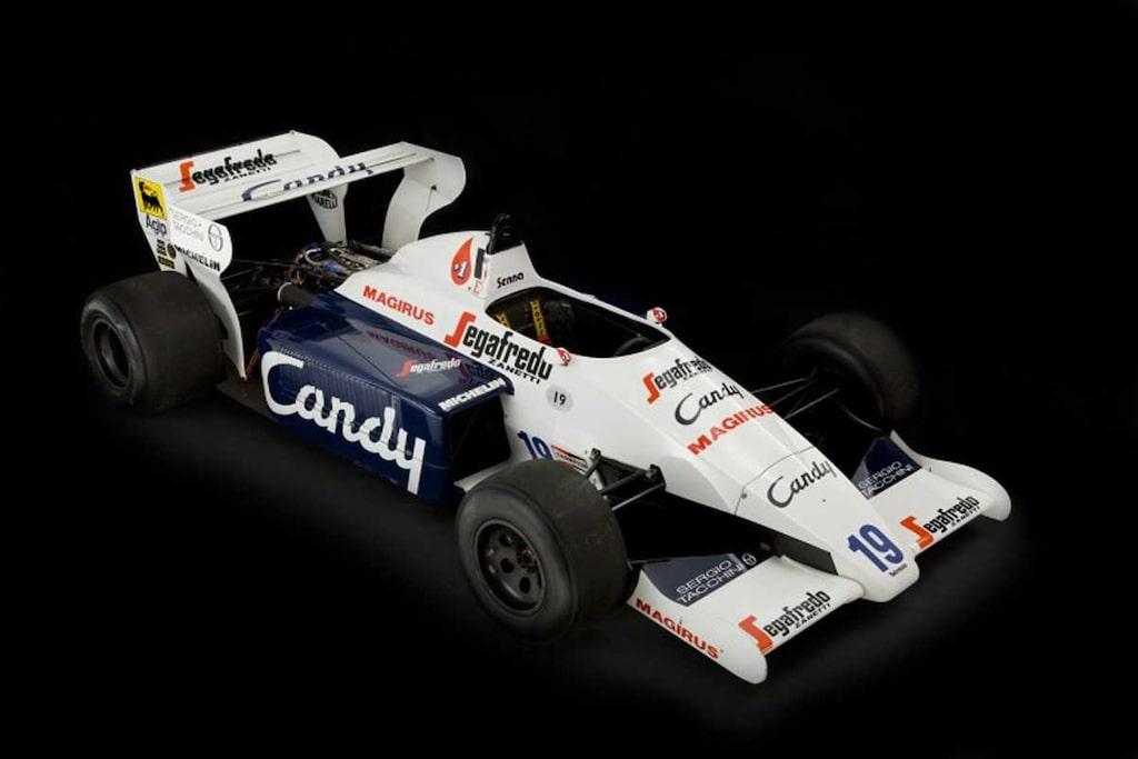 Ayrton Senna Toleman TG184-2