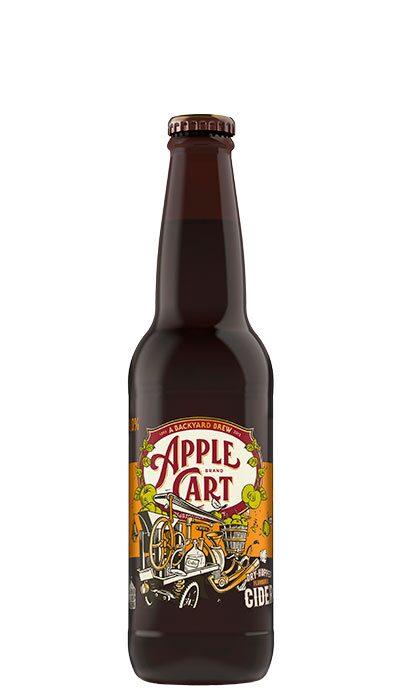 """Alkoholfri cider vid namn Backyard Brew beskriv i vårt test som """"speciell i sitt slag""""."""