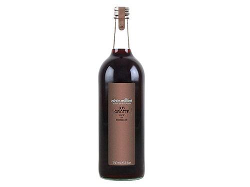 Jus Griotte är ett alkoholfritt vin som passar till vilt, nöt och lamm – ett bra alternativ till rött vin.