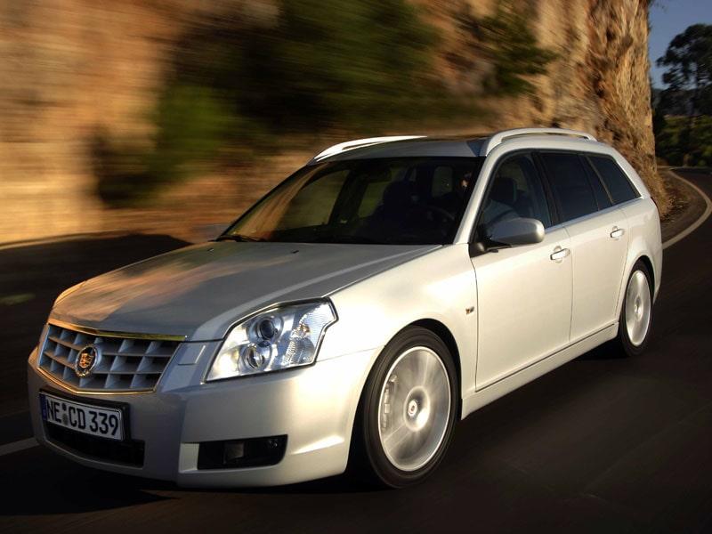 Cadillac BLS Wagon 1,9D med 180 hästkrafter.