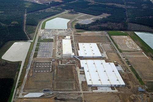 Volvos fabrik i South Carolina i USA.