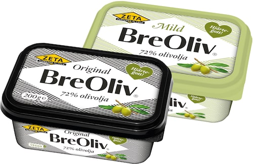 BreOliv finns i både Original och Mild – båda lika goda.