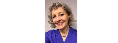 Helen Sundberg, fysioterapeut vid Sahlgrenska universitetssjukhuset.
