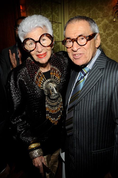 Iris och Carl Apfel. Foto: TT