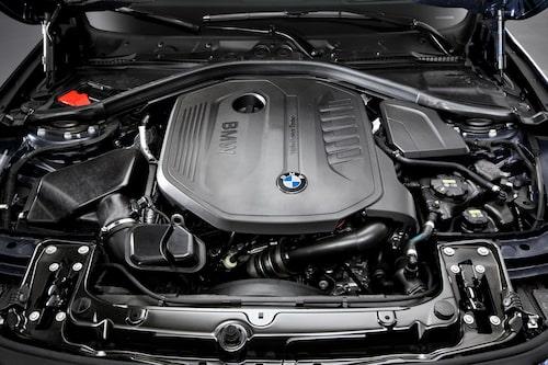 BMW 340i-motorn