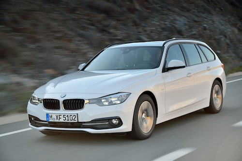 BMW 320d Touring EfficientDynamics Edition Sport Line facelift 2016