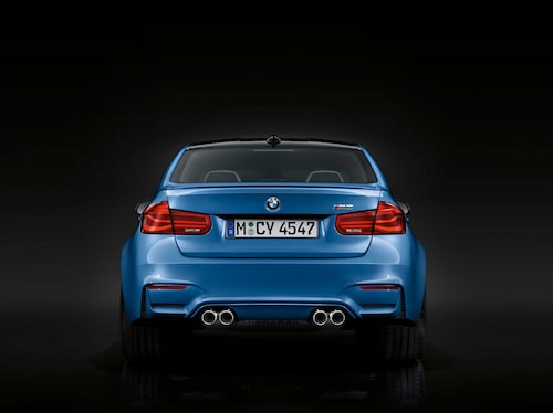 BMW M3 facelift 2016