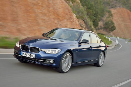 BMW 3-serie Sedan Sport Line facelift 2016