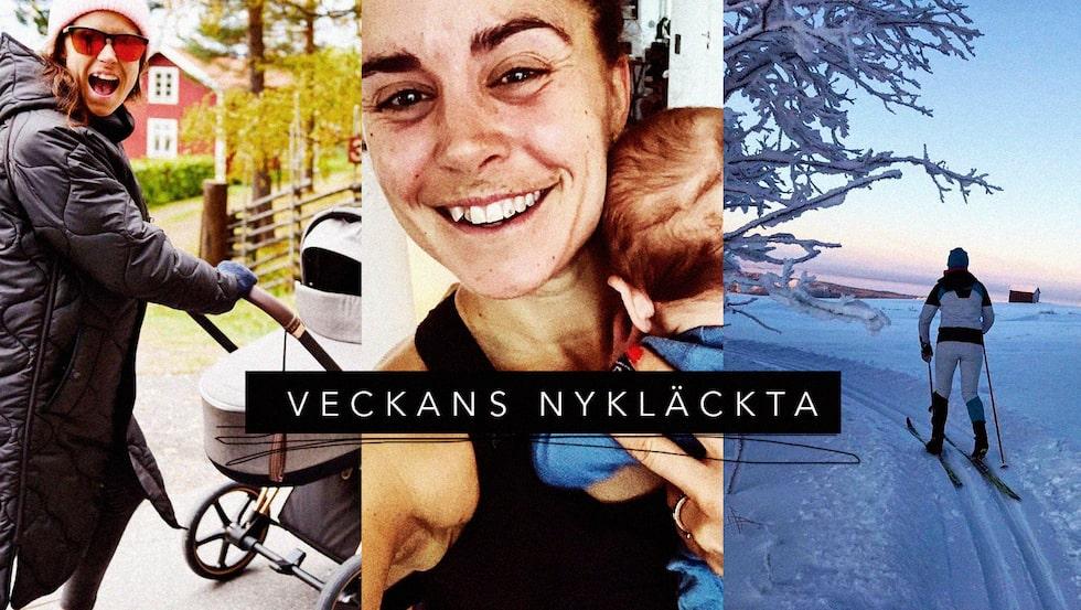 Skidstjärnorna Anna Haag och Emil Jönsson har blivit föräldrar. Nu berättar Anna Haag om första tiden som mamma.
