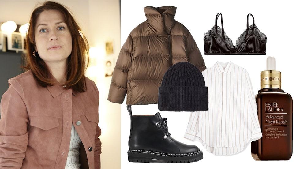 Modechef Lisa Pettersson föredrar tidlösa plagg på rean.
