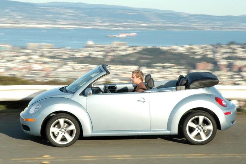 Provkörning av Volkswagen Beetle 2,5 Cabriolet
