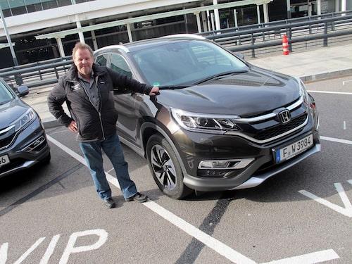PeO Kjellström gillar Honda CR-V i det mesta men den nya smarta farthållaren är rent av skit.