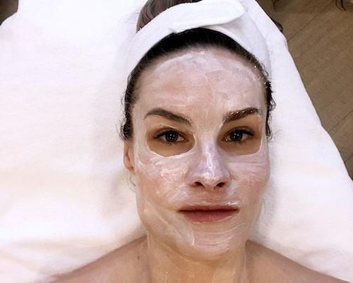 Olga skippade underlivsfixet men tackade ja till ansiktsbehandling.