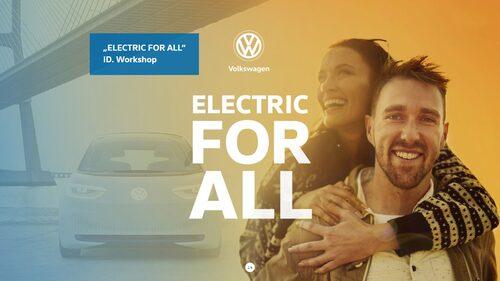 En gång folkets bil (därav namnet Volkswagen), nu med sikte på att bli folkets elbil.
