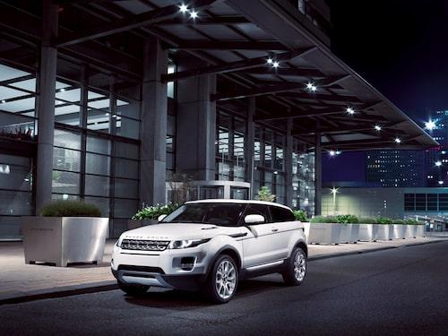 Range Rover Evoque i Prestige-utförande.