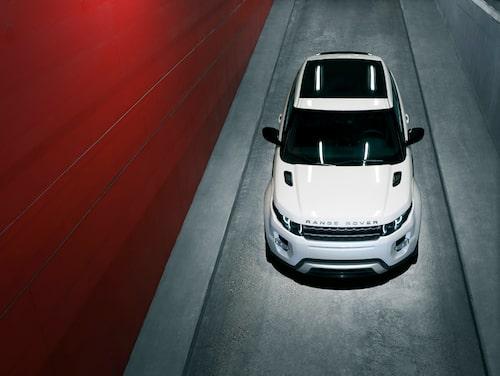 Range Rover Evoque i Dynamic-utförande.