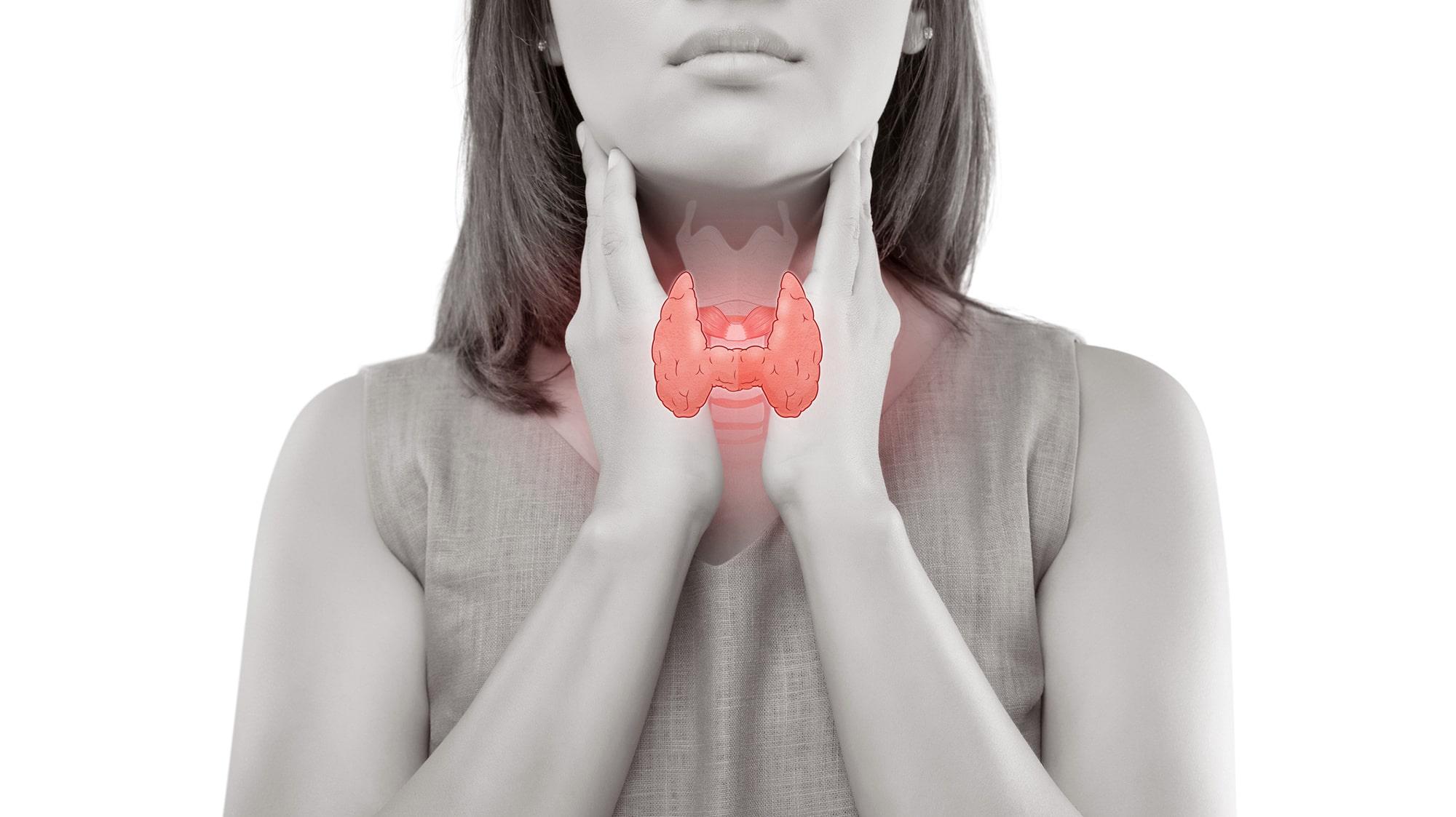 sköldkörtel symtom kvinna