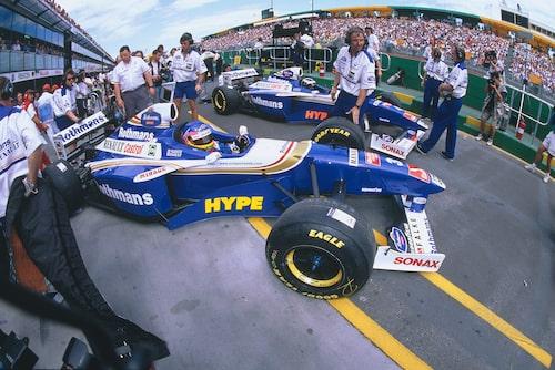 Renault och Castrol i mästarkombination tillsammans med Williams 1997.