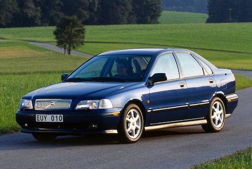 Några Volvo-modeller som Peter Hurbury ligger bakom eller där han har haft ett finger med i spelet... S40