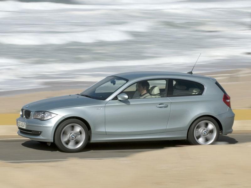 Provkörning av BMW 120i