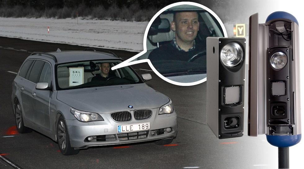 Bättre fartkameror i Sverige ska fånga fler fortkörare