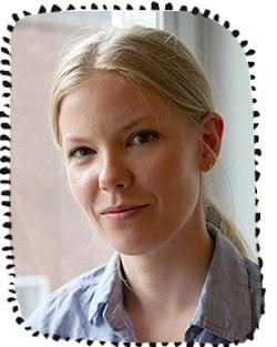 Linnea Hanell, språkforskare.