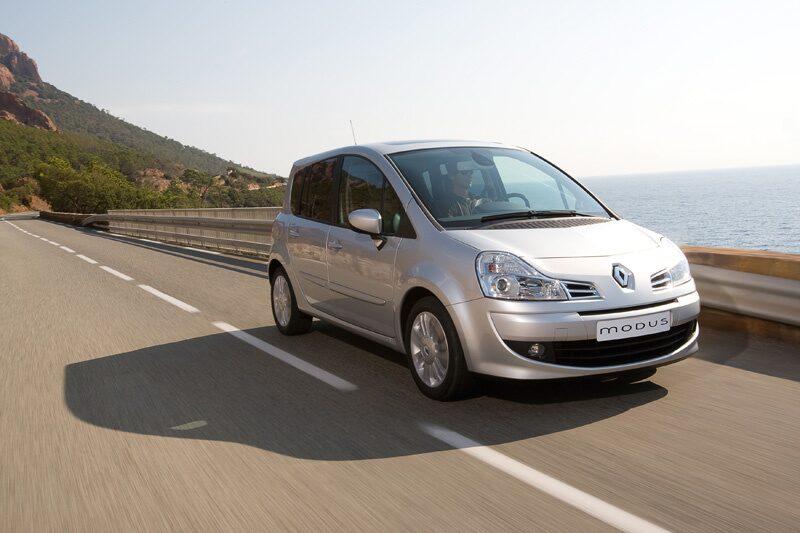 Provkörning av Renault Grand Modus 1,2