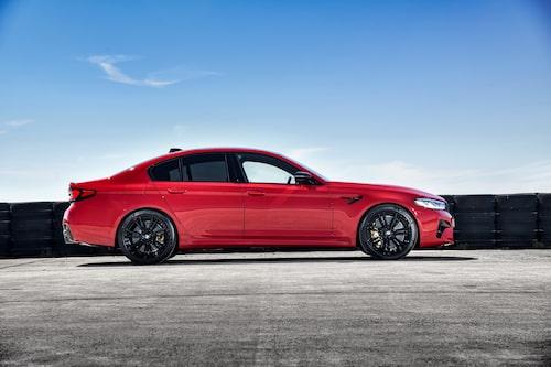 M5 Competition kommer i fem nya färger och med ny fälgdesign.