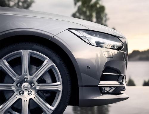 Denna bild har många säkert redan sett på Volvos Facebook-sida.