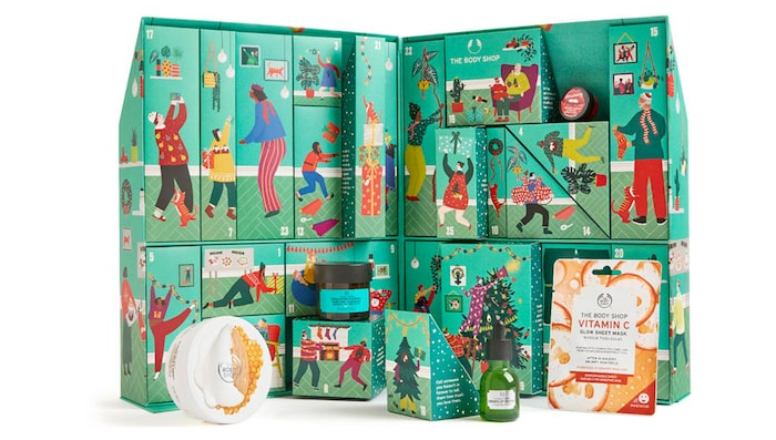 The Body Shops ultimate calendar 2020.