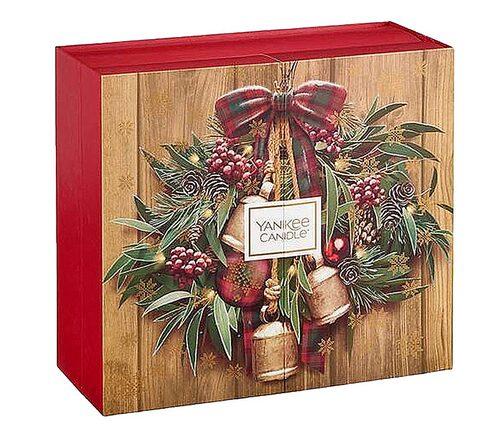 Julkalender med doftljus från Yankee Candle.
