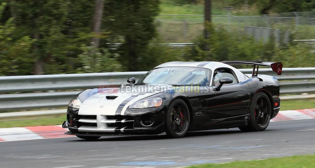 Dodge Viper ACR på Nürburgring