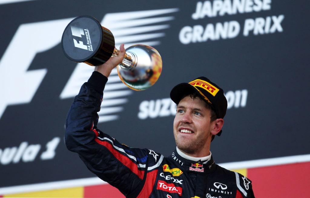 Sebastian Vettel F1-världsmästare 2011