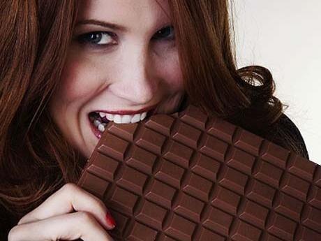 Frossa i choklad - och må ännu bättre.