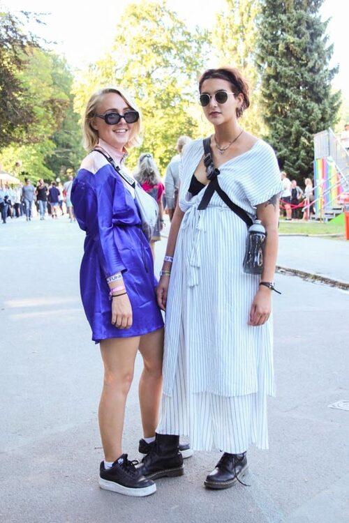 Rebecca Jaldenius,23 och Nicole Khadavi, 19.