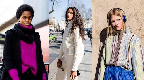 Färgglad, neutral eller mönstrad – vilken tröja väljer du i höst?