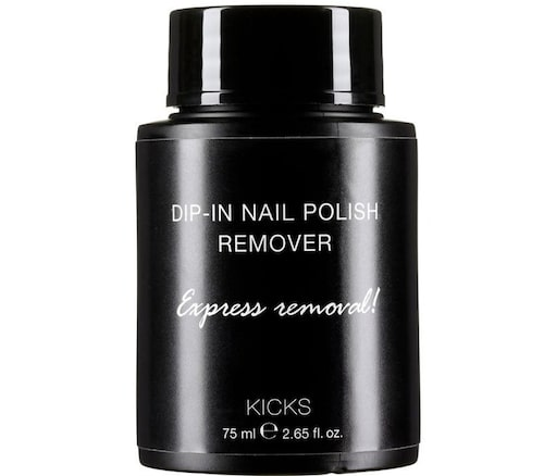 Kicks Dip in nail polish remover