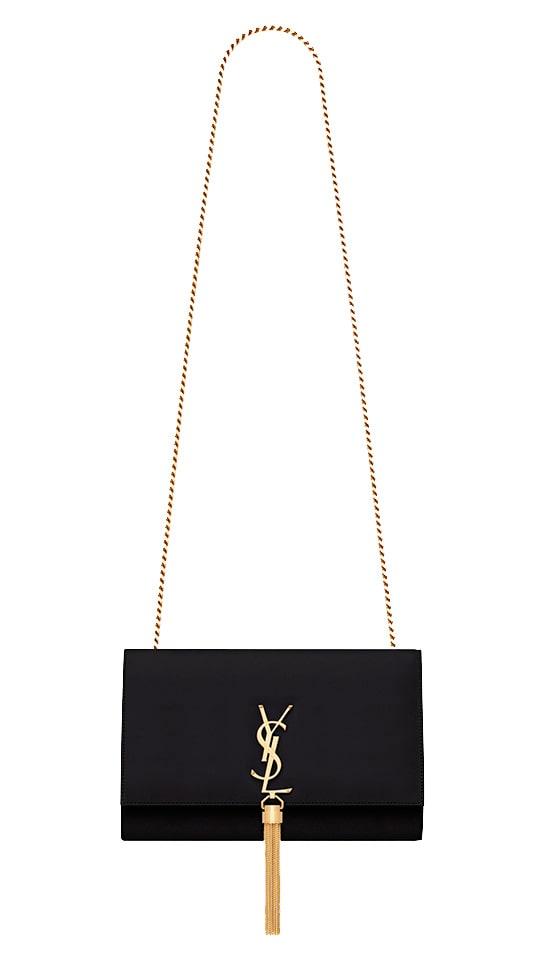 Saint Laurents Kate bag med en tassel.