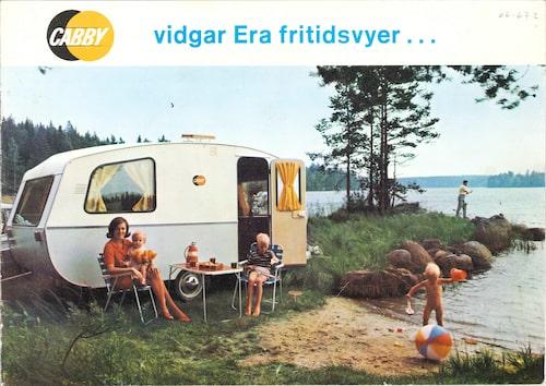 Så här såg omslaget på Cabbys katalog 1965 ut, samma år som företagets första serietillverkare modell lanserades.