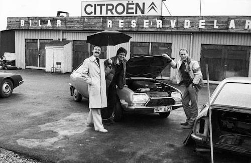 Åke Borglund köper en Citroën GS som så småningom ska bli Afrikas Drottning.