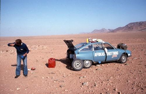 Resan mot Kapstaden slutade tyvärr i Tanger, Marocko.