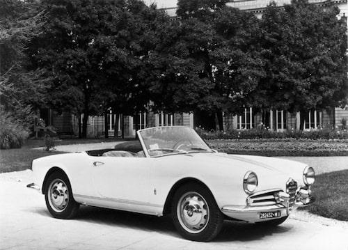 Giulietta Spider 1955