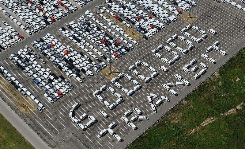 Ford Transit firar sex miljoner byggda exemplar.