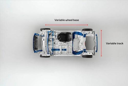 Nya Yaris baseras på TNGA-arkitekturen som är flexibel och anpassningsbar beroende på bilstorlek. I Yaris fall heter varianten GA-B (kallas även TNGA-B) och betyder att den är anpassad för bilar i B-segmentet. Det är första gången den B-segmentstora varianten används.