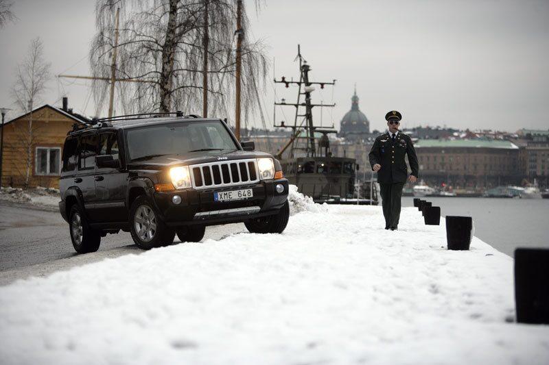 Provkörning av Jeep Commander