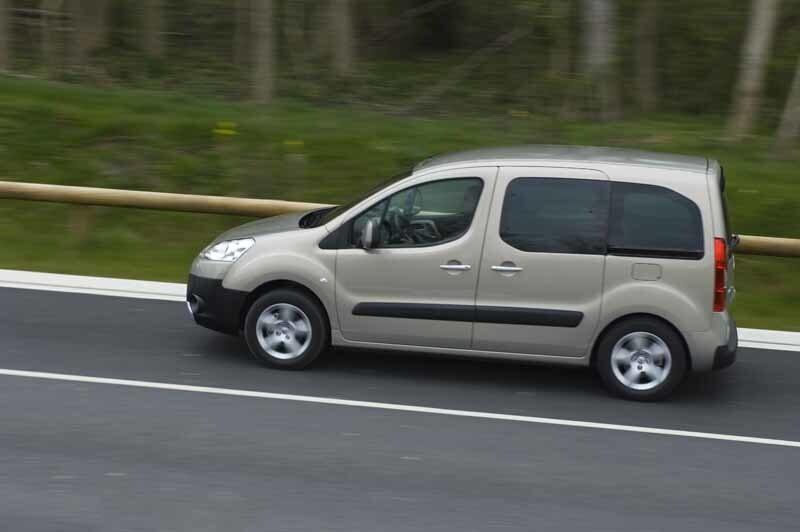 Provkörning av Peugeot Partner Tepee