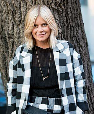 Annie Ankervik, frisör och stylist som har tilldelats flera utmärkelser och idag jobbar på DOM Hairdressing i Stockholm.