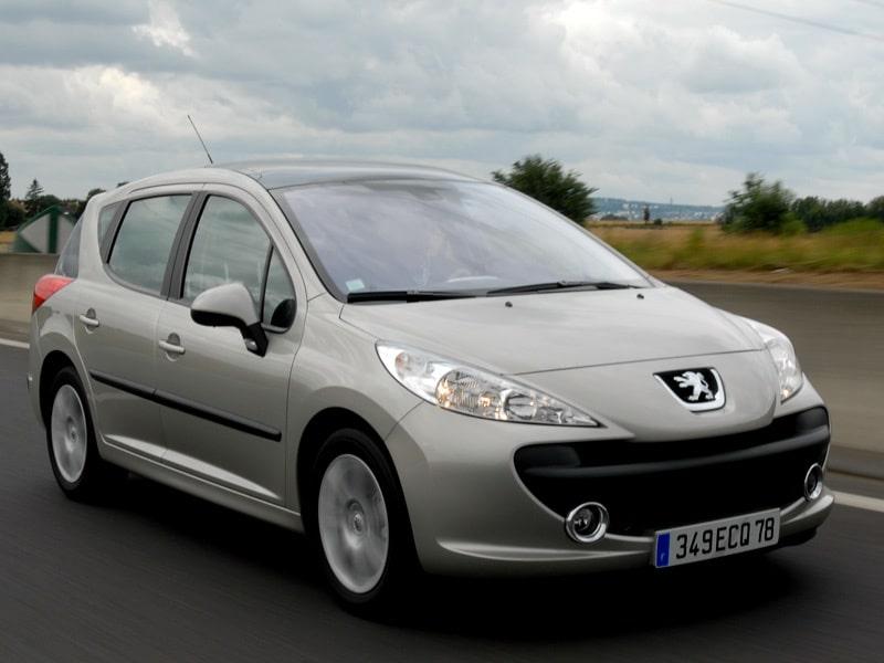 Provkörning av Peugeot 207 SW