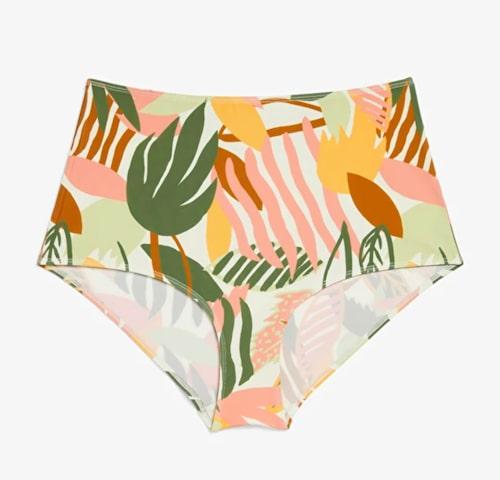 Bikinibyxor med hög midja från Monki.